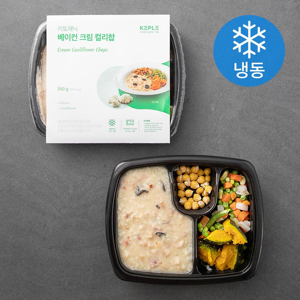 닥터키친 키토제닉 베이컨 크림 컬리찹 (냉동), 250g, 2팩