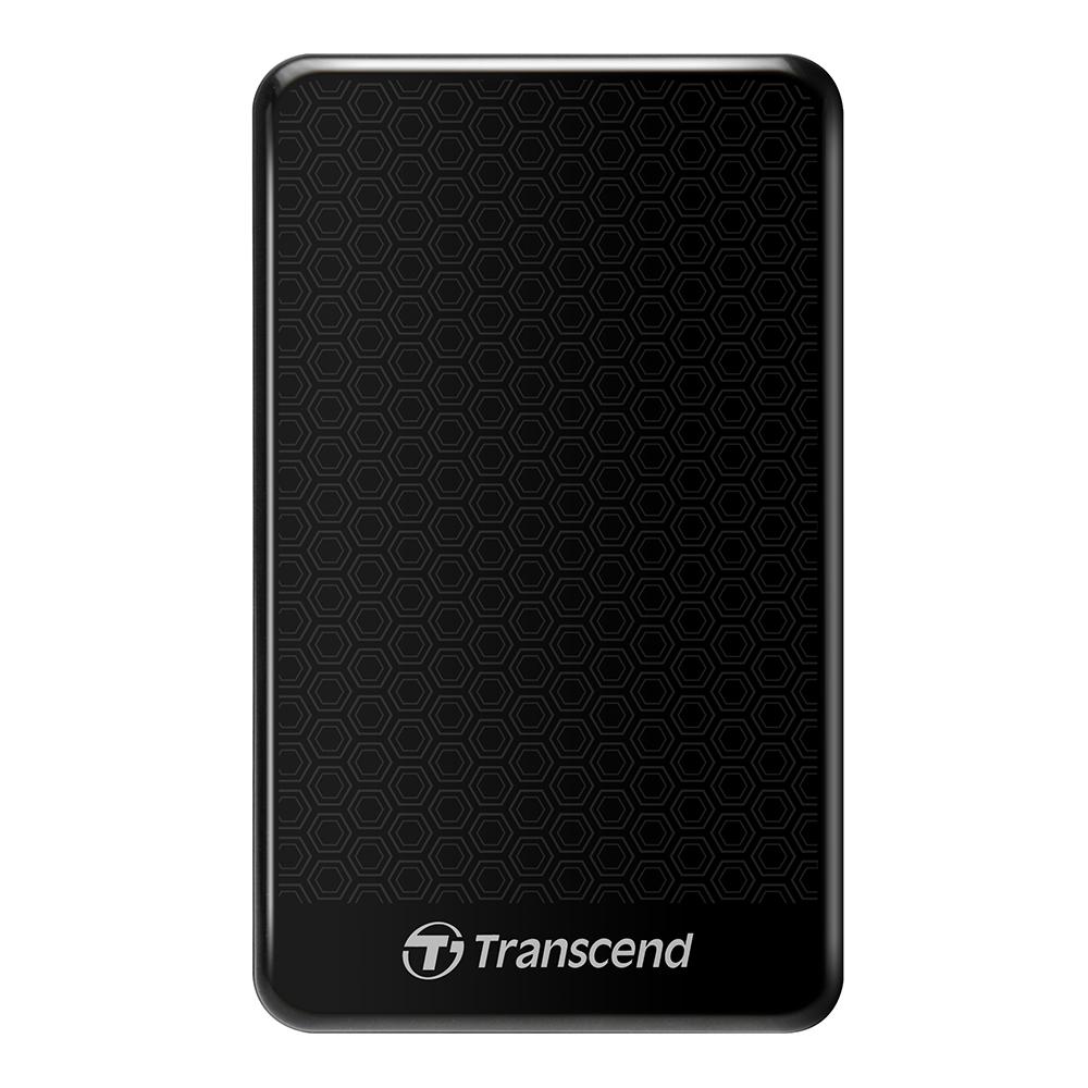 트랜센드 StoreJet 외장하드 USB 3.1 25A3, 2TB, 블랙