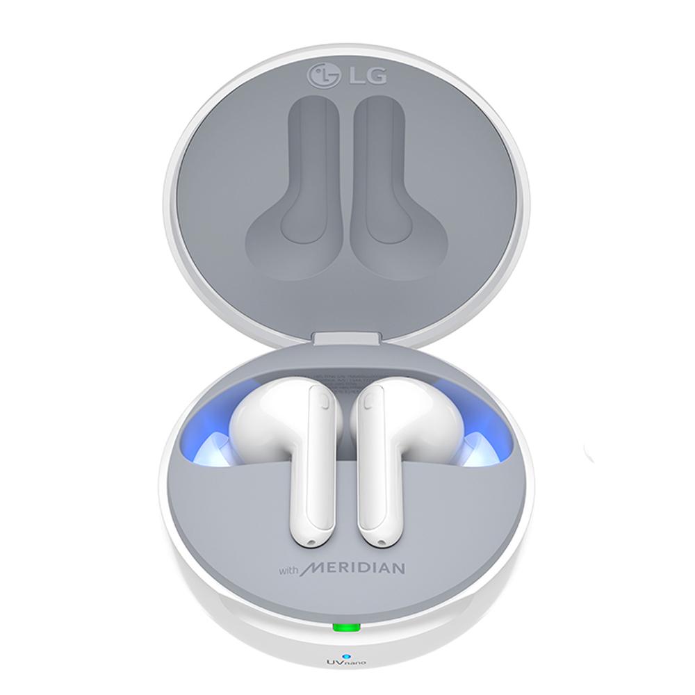 LG전자 톤프리 블루투스 이어폰, HBS-TFN7, 화이트