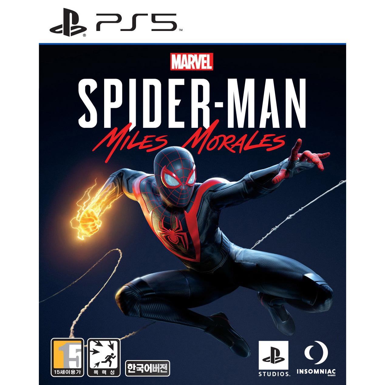 PS5 마블 스파이더맨 마일스 모랄레스, 단일상품