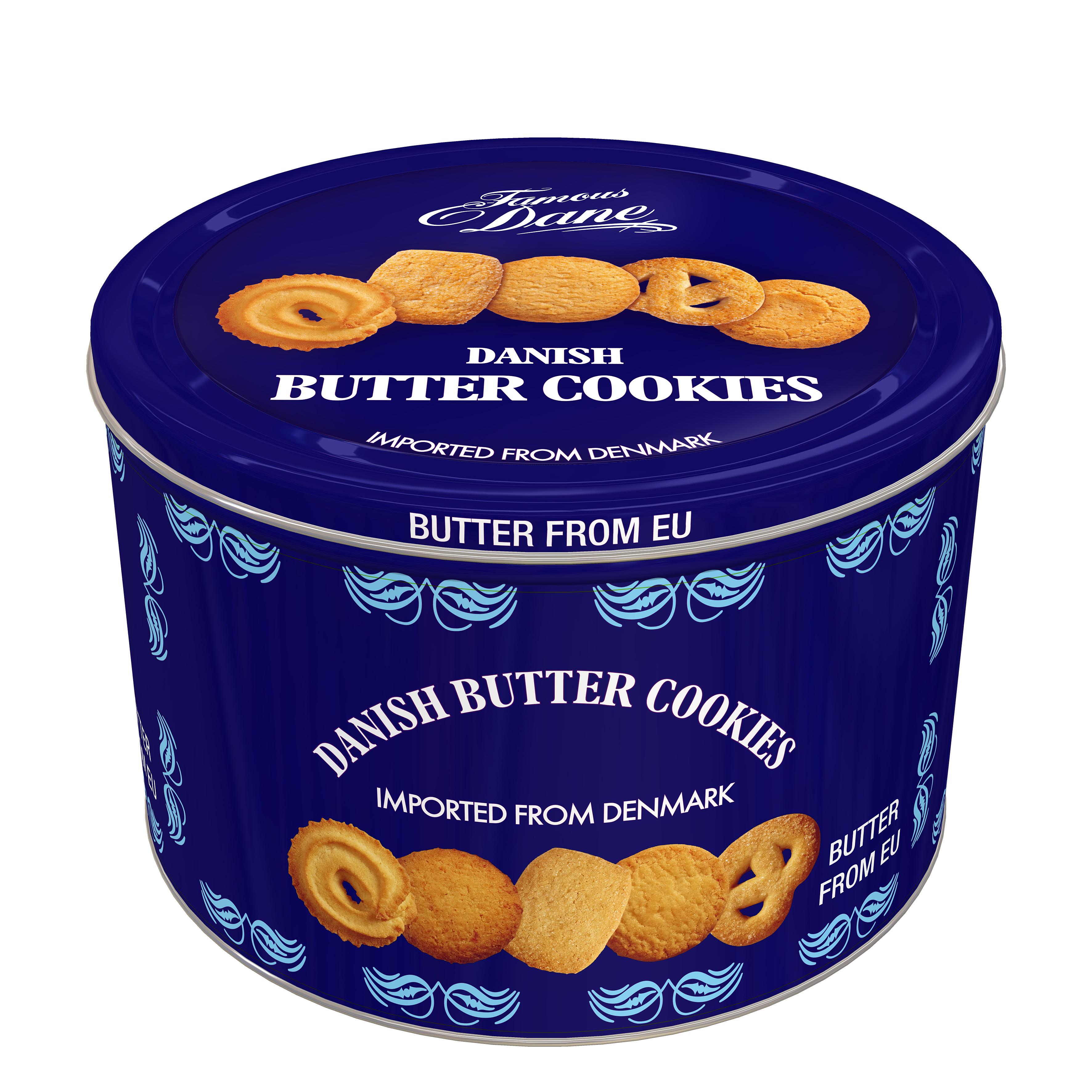 [쿠팡 직수입] 대니쉬 버터 쿠키, 908g, 1개