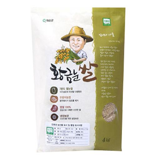 황금눈쌀 유기농 7분도 미로 쌀눈쌀, 1개, 4kg