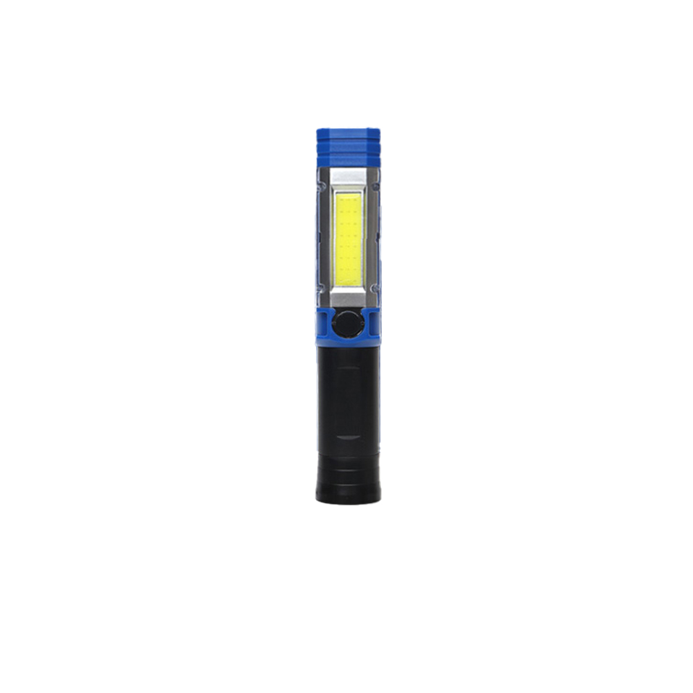 [다기능 손전등] COB LED 다기능 휴대용 라이트 블루, 1개 - 랭킹3위 (15900원)