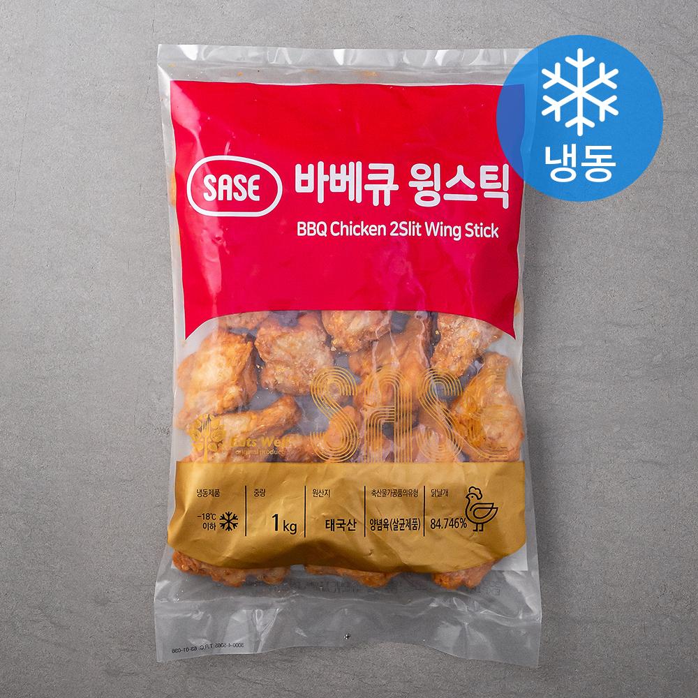 사세 바베큐 윙 스틱 (냉동), 1kg, 1개
