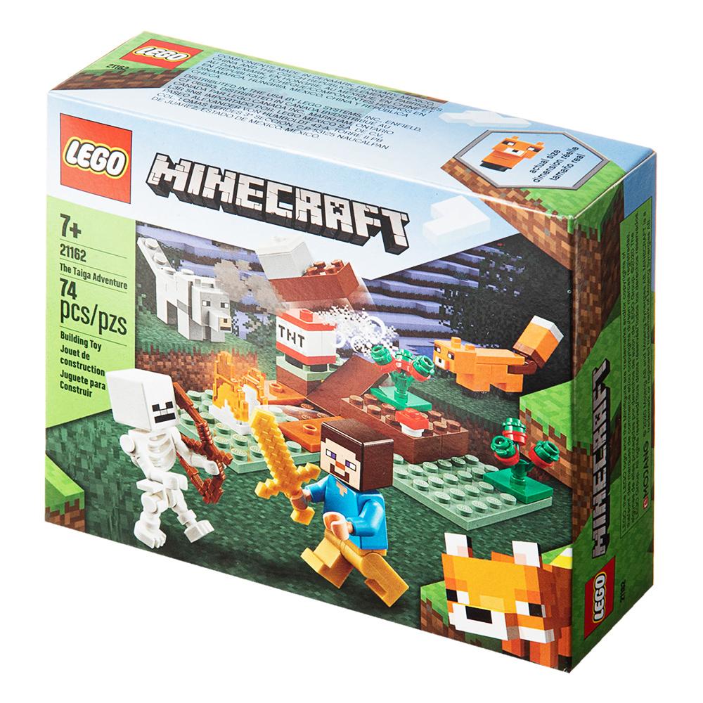 레고 마인크래프트 타이가 모험 21162, 혼합색상