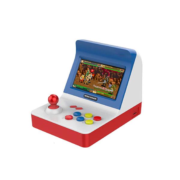 레트로 포터블 아케이드 휴대용 게임기 기본형 한글판 화이트믹스-7-4321088022