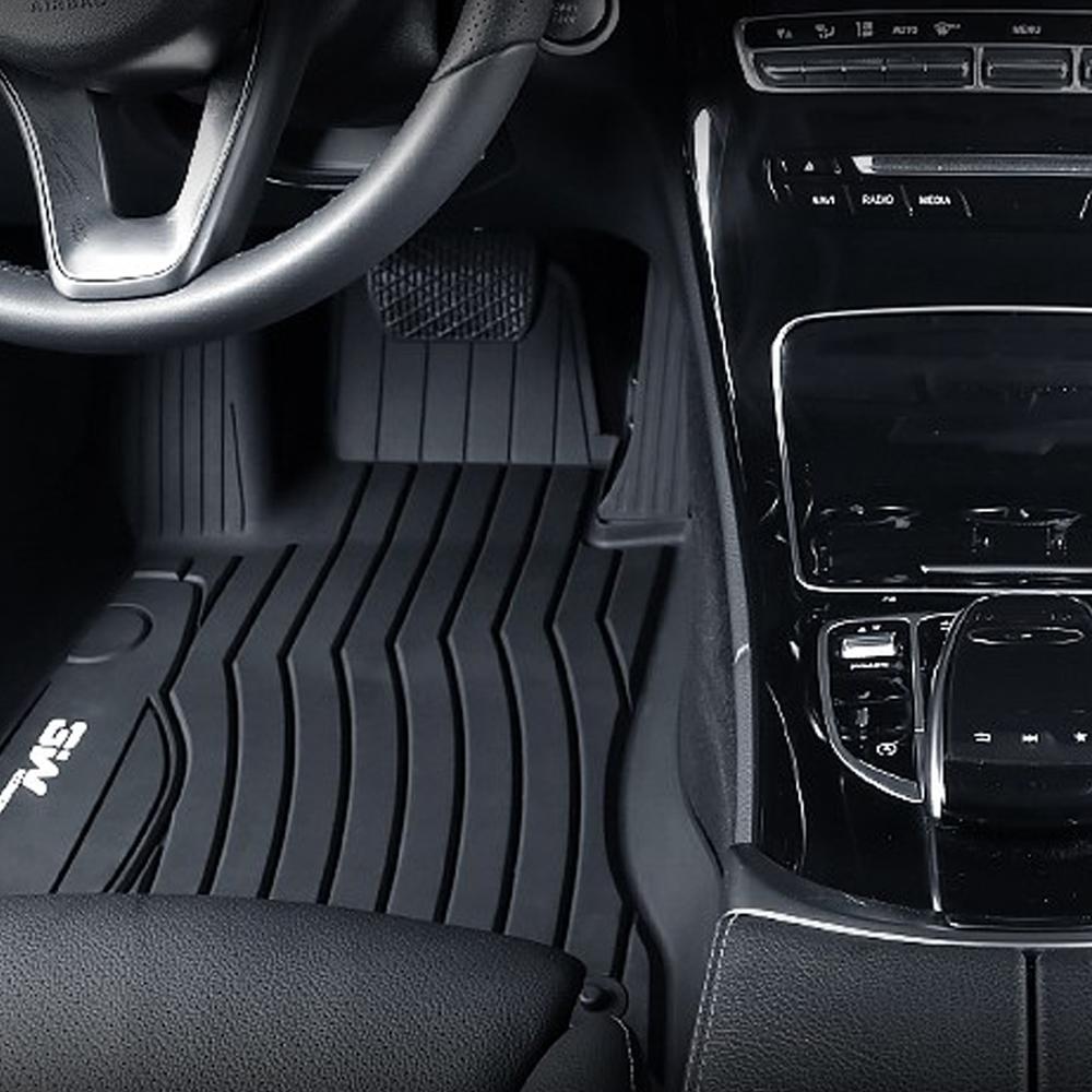 3W 차량용 에코라이너 3D TPE 풀커버 카매트 운전석 + 조수석 + 뒷좌석 세트, 벤츠, E class F/L 2020.10~
