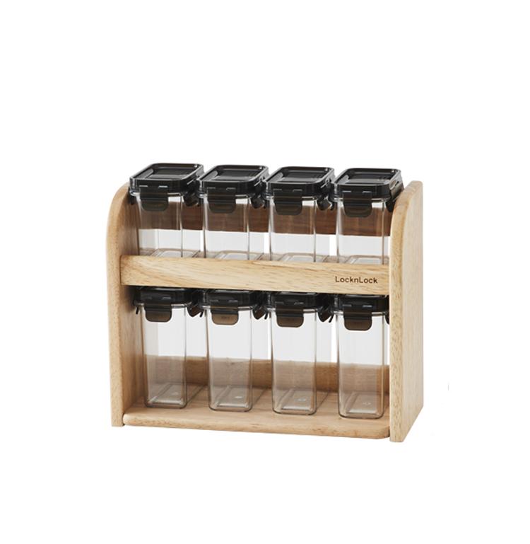락앤락 모듈러 양념통 8p 세트 BRW-VN-6 HTE571S8, 1세트, 양념통 8p + 트레이