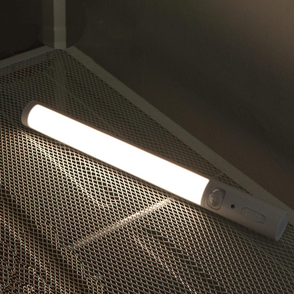 컴스 무선 건전지 절전형 LED 센서등 EK565, 1개