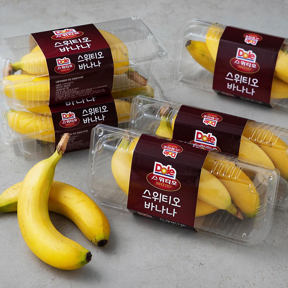 Dole 스위티오 바나나, 6팩