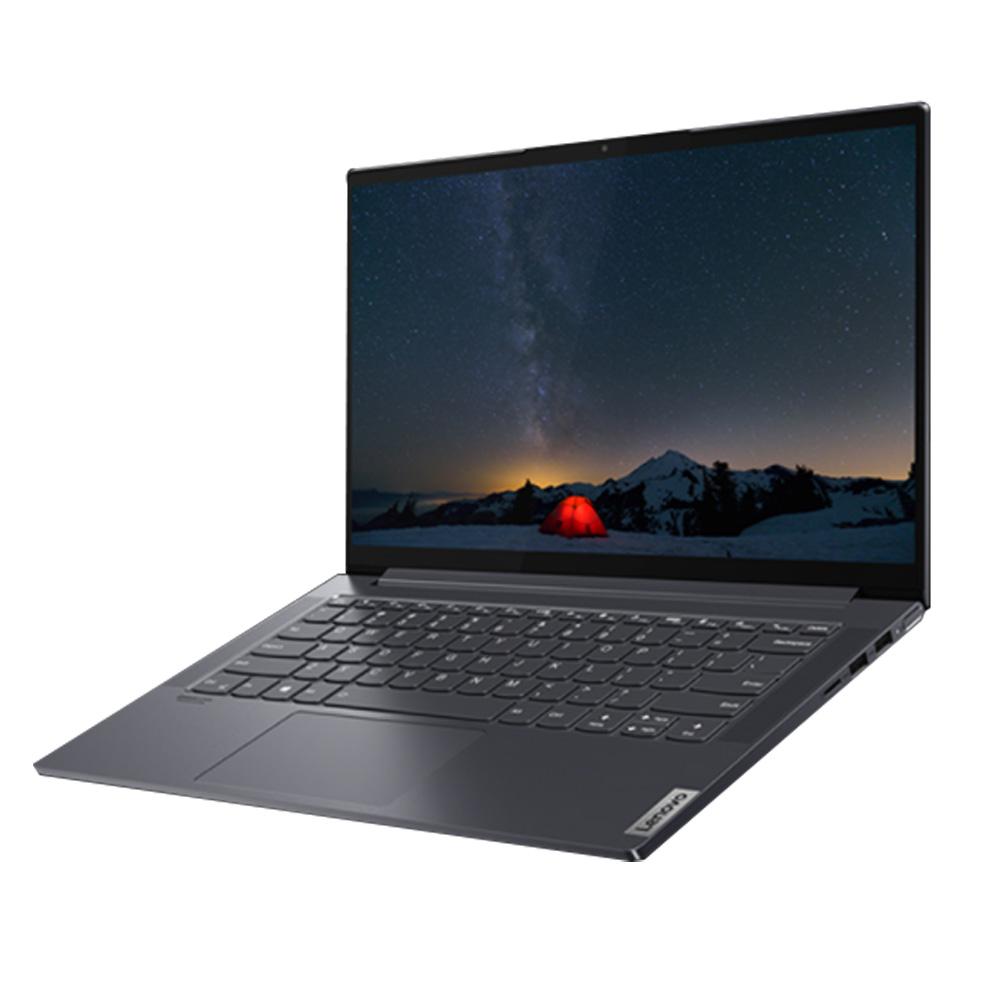 레노버 Yoga Slim7-14ARE05 Slate Grey 노트북 82A2004CKR (라이젠7-4700U 35.56cm WIN10 Home), 윈도우 포함, 512GB, 16GB