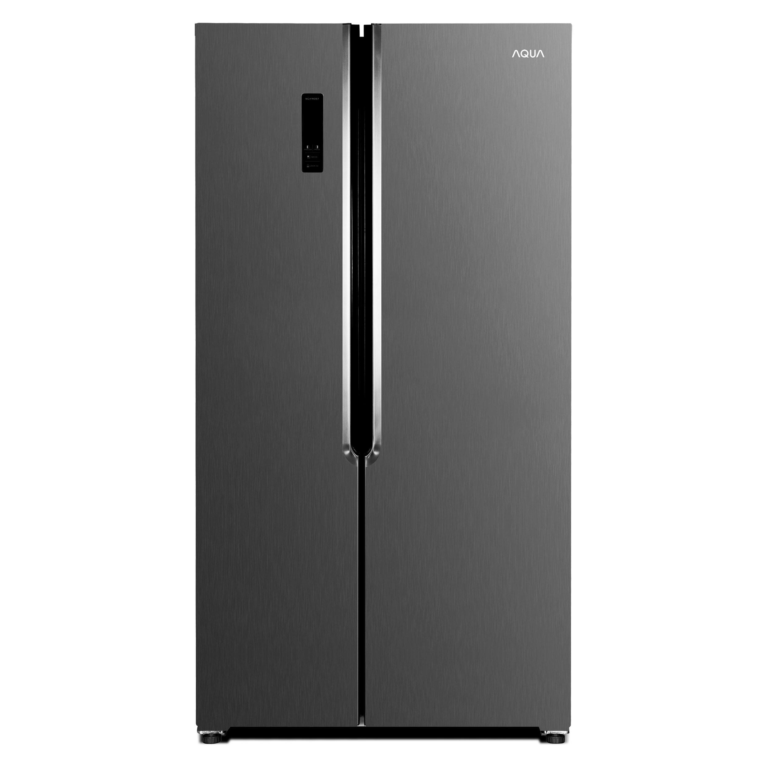 하이얼 아쿠아 세미빌트인 인테리어 양문형 냉장고 블랙 ARS472MNM 436L 방문설치