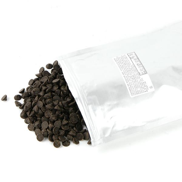 아리바 다크디스크 커버춰 초콜릿 72%, 1kg, 1개