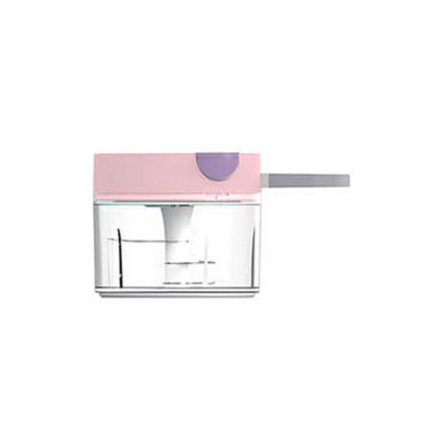 로지 야채다지기 대형, 1개, 핑크