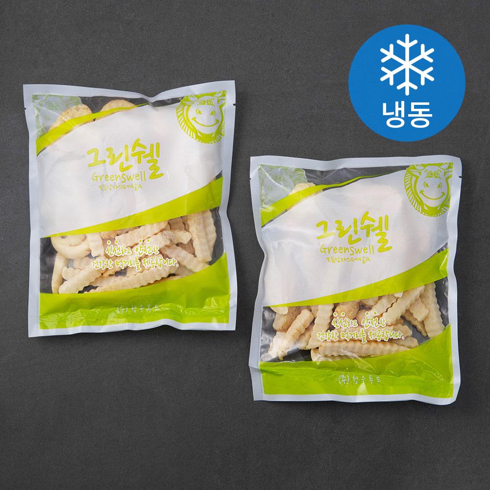 그린쉘 모듬 감자 스페샬 (냉동), 450g, 2개