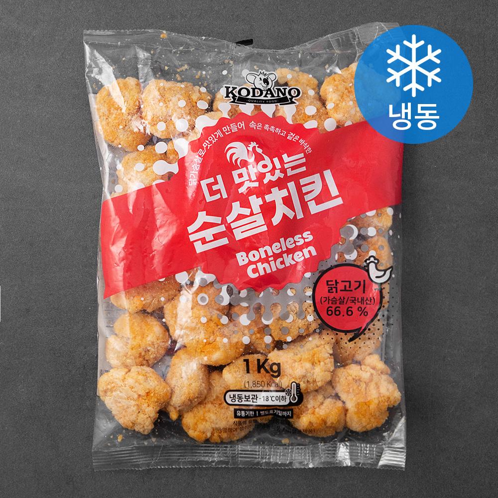 코다노 더 맛있는 순살치킨 (냉동), 1kg, 1개