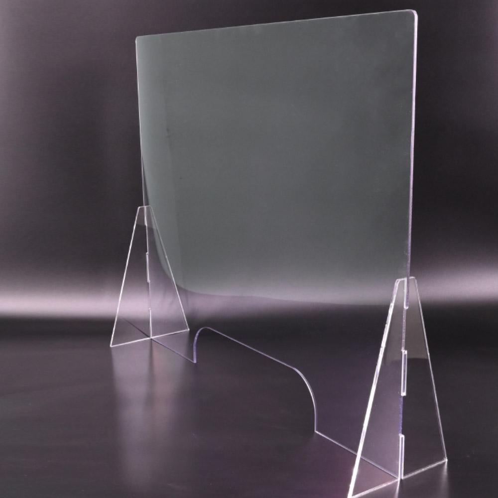 입소문 투명 아크릴 가림막 1000mm x 600mm x 두께 4mm