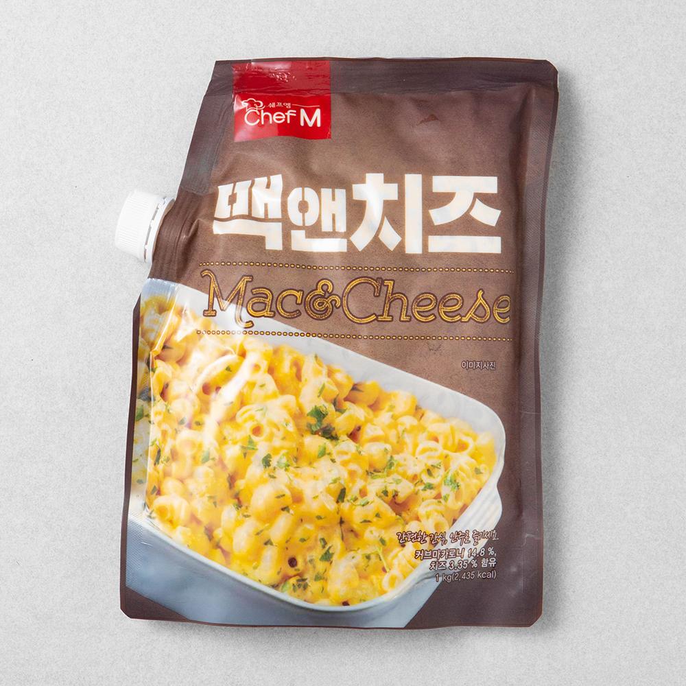 쉐프엠 맥앤치즈, 1kg, 1입