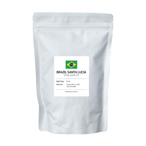 페이브 프리미엄 브라질 산타루시아 싱글 오리진 원두, 홀빈, 200g