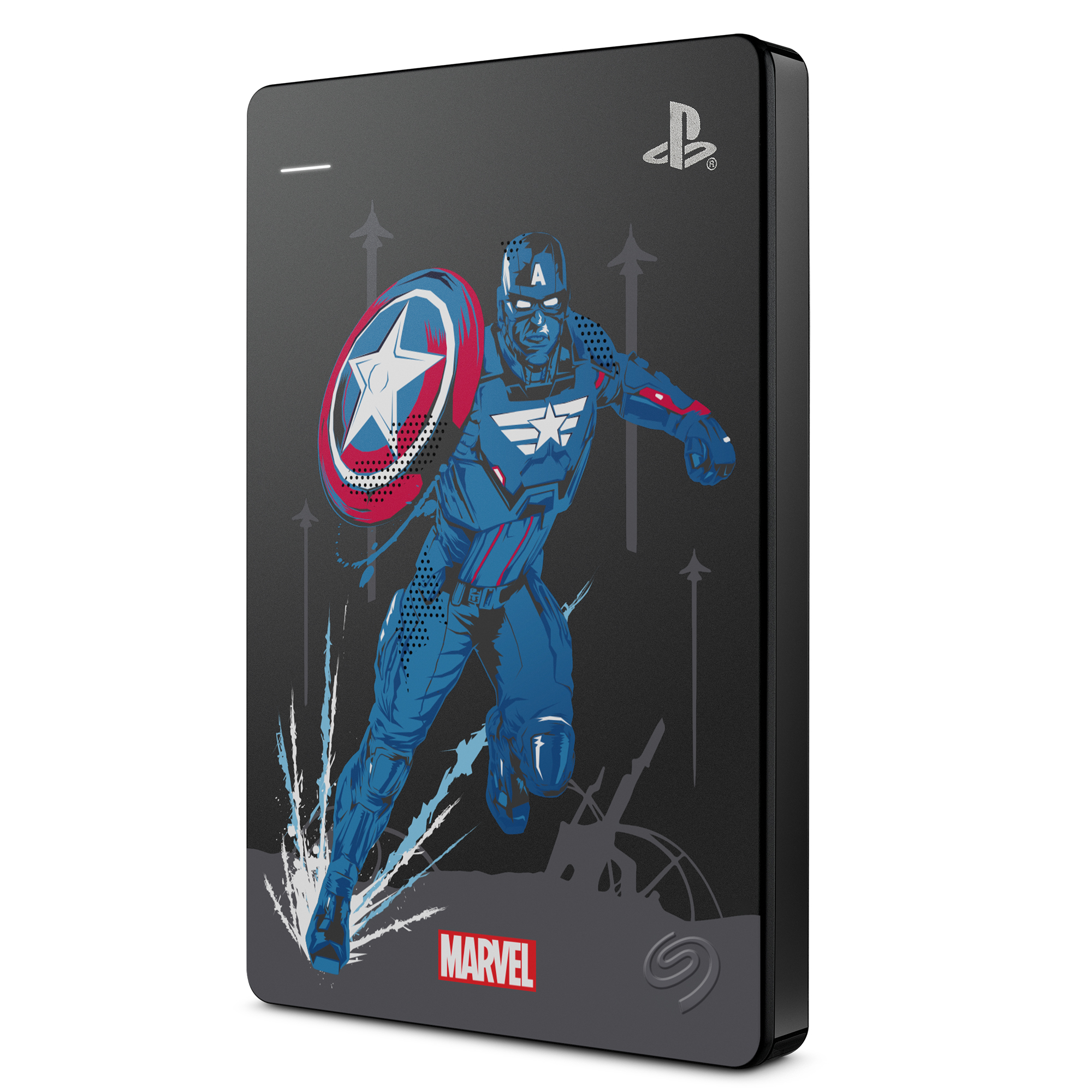씨게이트 Game Drive for PS4 Marvels 외장하드, 2TB, Captain America