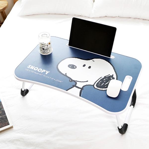 피너츠 스누피 노트북 테이블, 네이비