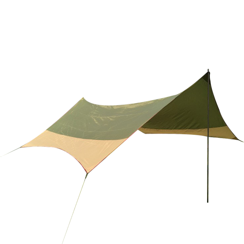 캠핑용방수 렉타헥사타프 초대형그늘막 02번, 혼합색상