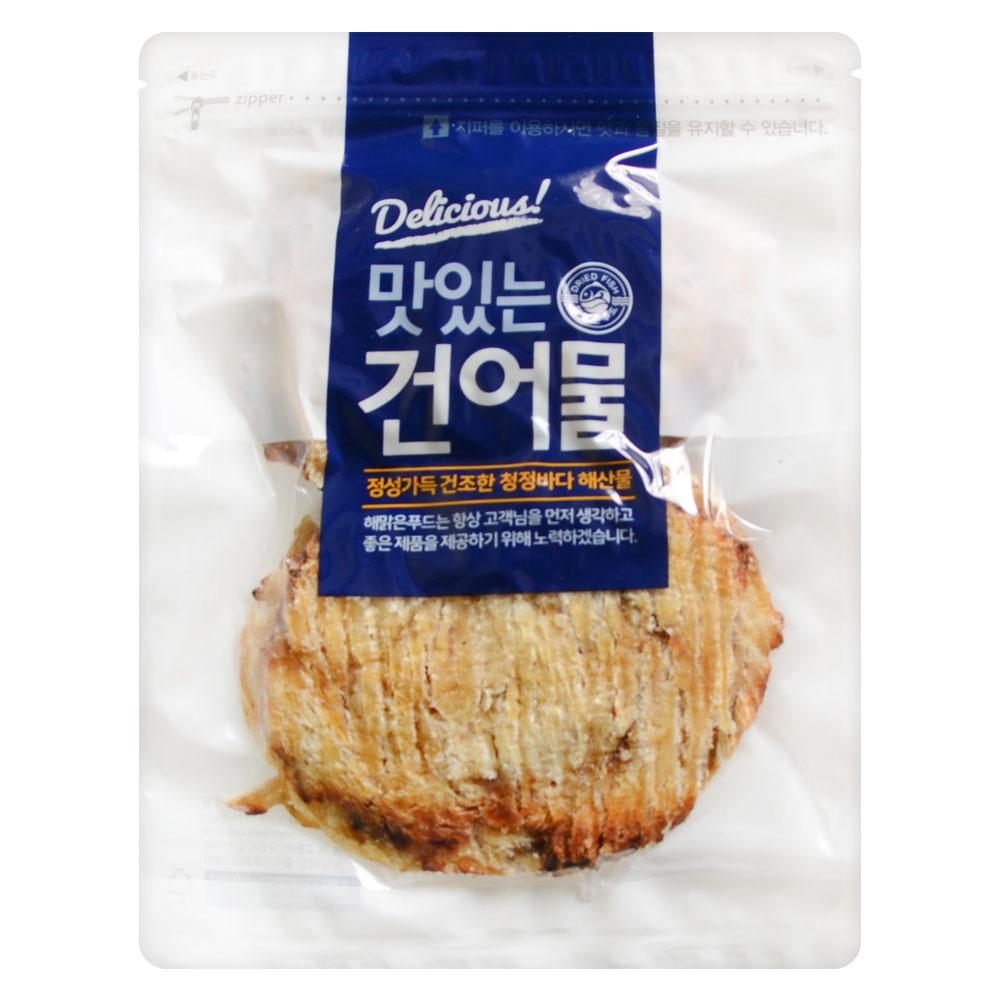 [Gold box] 해맑은푸드 구운 순살 아귀포, 300g, 1개 - 랭킹16위 (9900원)