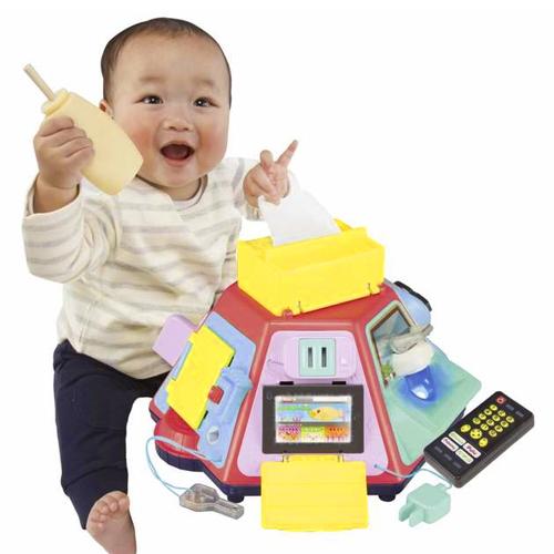 투모로우 베이비 우리말버전 장난꾸러기 만능놀이 장난감, 혼합색상