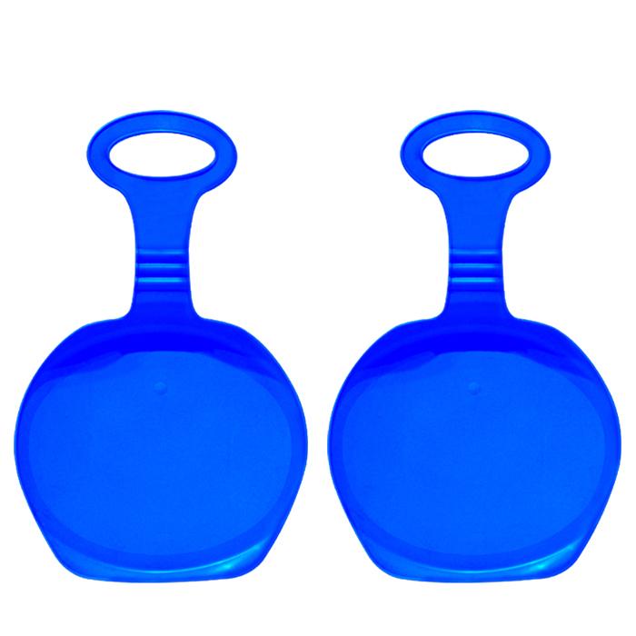 팡팡 휴대용 눈썰매 블루 2p