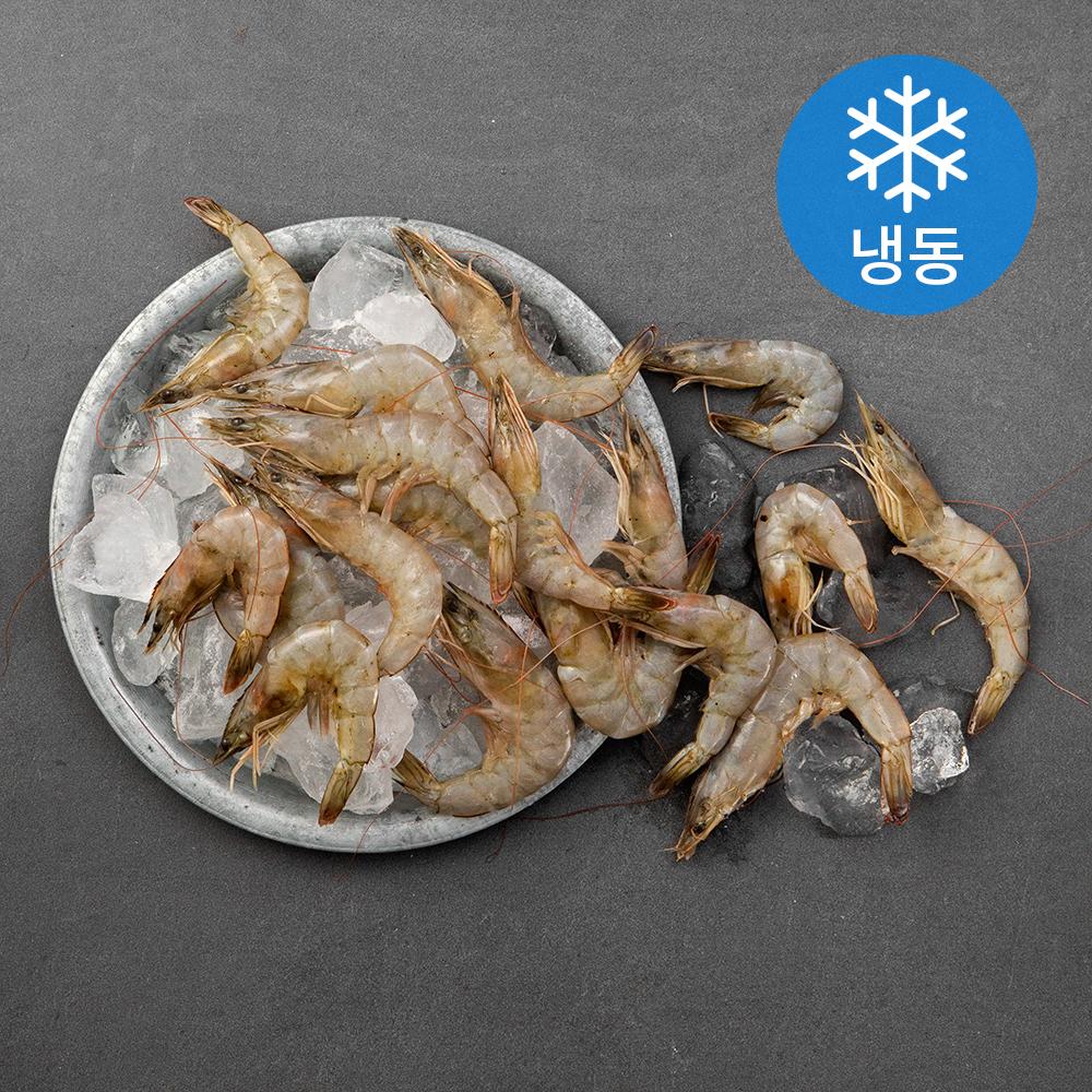 국산 냉동새우 구이 찜용, 3kg, 1개