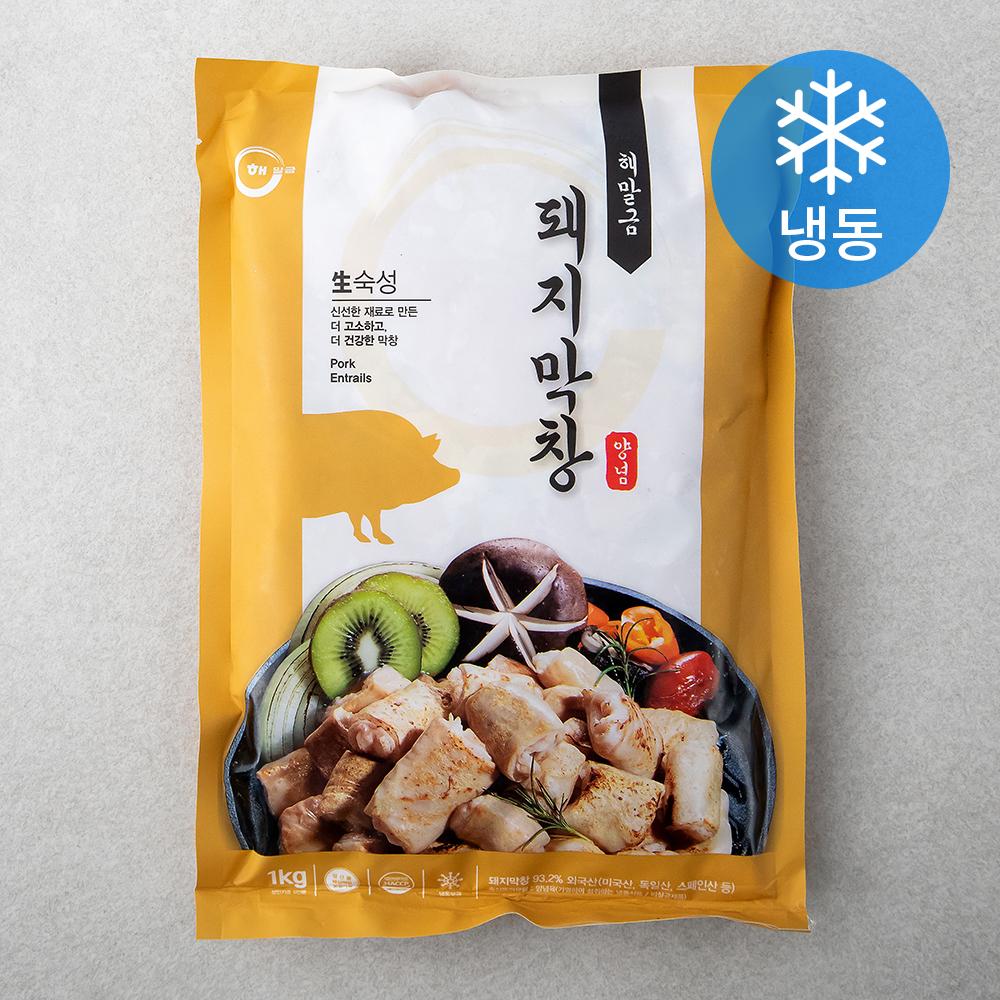 해말금 돼지막창 양념 (냉동), 1kg, 1개