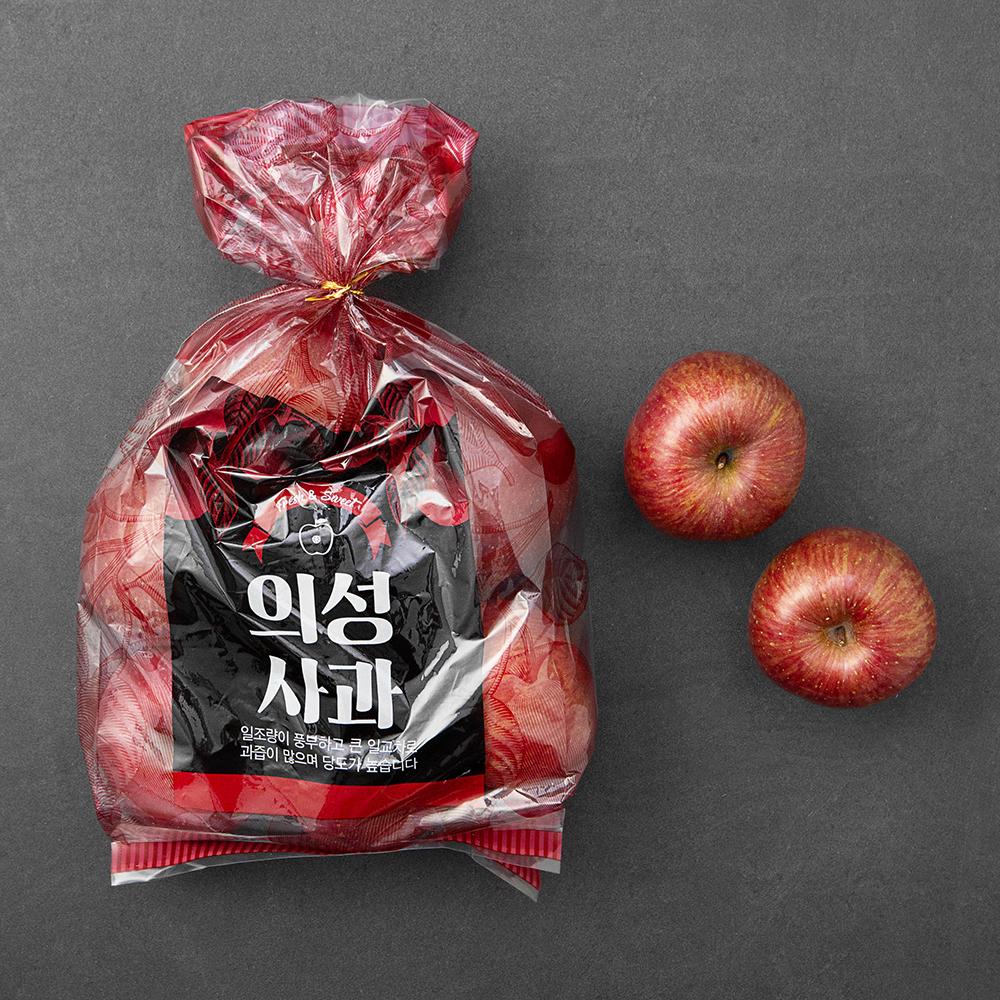 자가담 의성 당도선별 사과, 1.6kg(7~10과), 1개