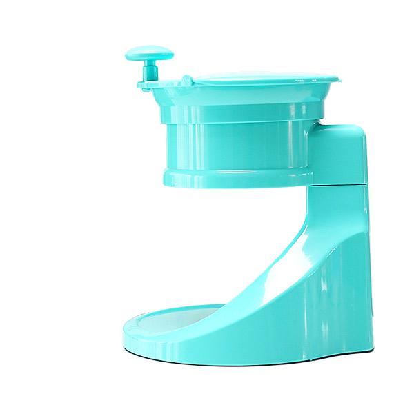 알럽하우스 레트로 가정용 수동 빙수기, 레트로민트, 단품 (POP 4624278115)