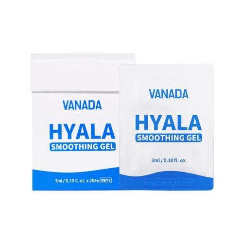 VANADA 히알라 스무딩 젤 고급형, 3ml, 20개