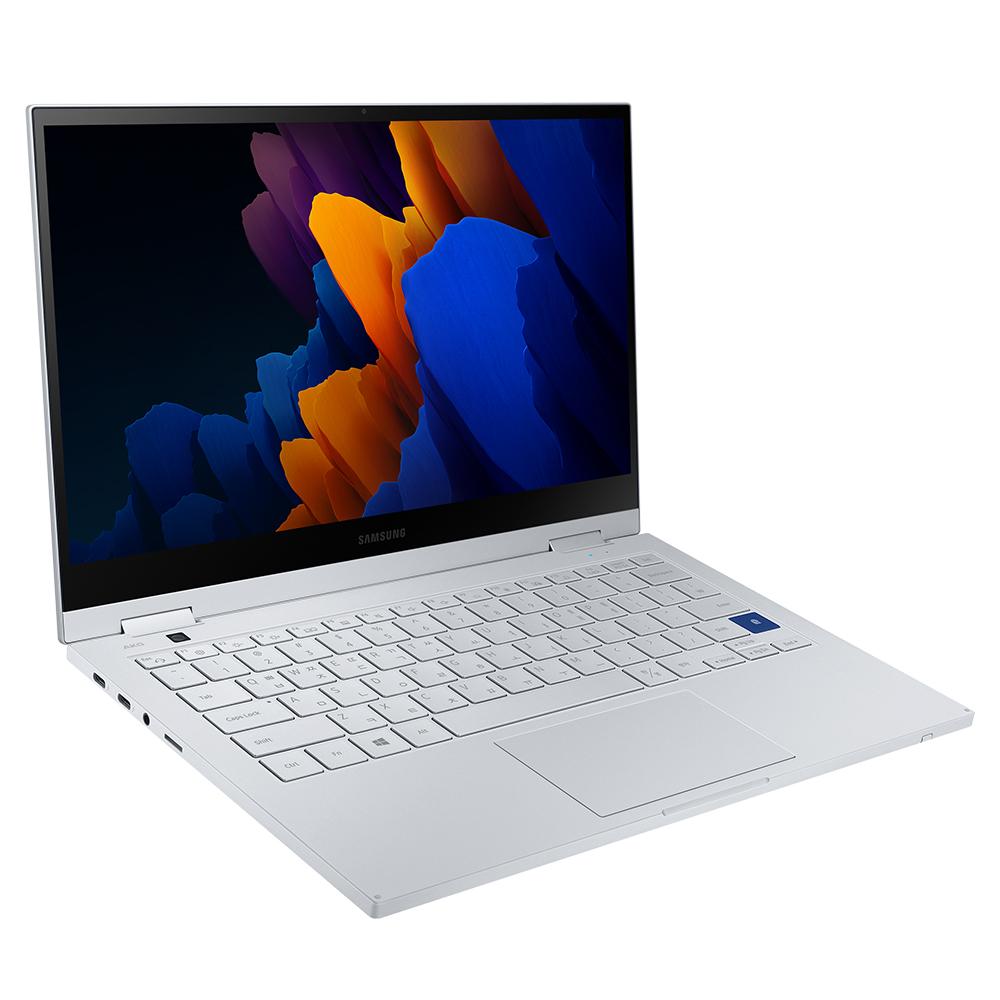 삼성전자 갤럭시북 플렉스2 5G 로얄 실버 노트북 NT930QCA-KC71S (i7-1165G7 33.7cm WIN10 Home), 포함, 512GB, 16GB