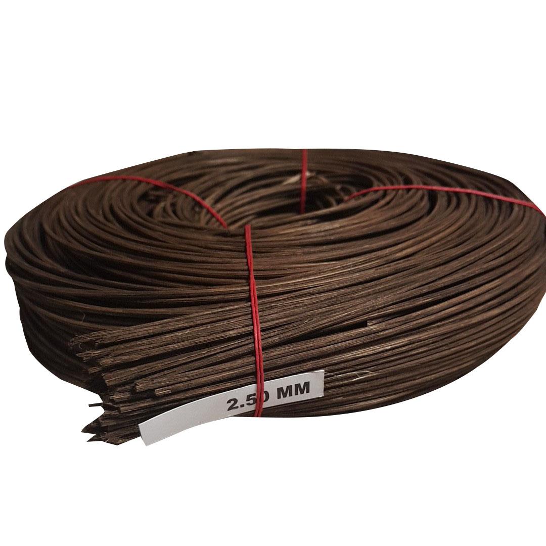 아이원티 라탄 공예 고급 재료 2.5mm 500g, 갈색, 1세트