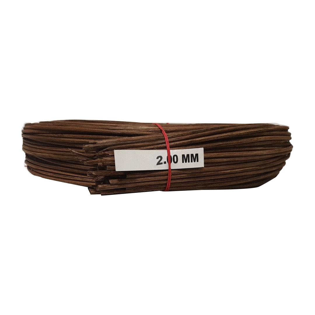고급 등공예 라탄재료 2mm 500g, 갈색, 1개