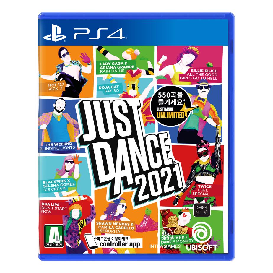 유비소프트 PS4 저스트댄스 2021 한글판 게임타이틀