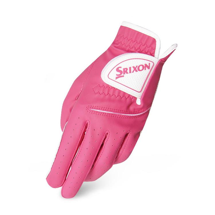 스릭슨 여성용 컬러 골프장갑 양손용 GGG-15070PR, 핑크