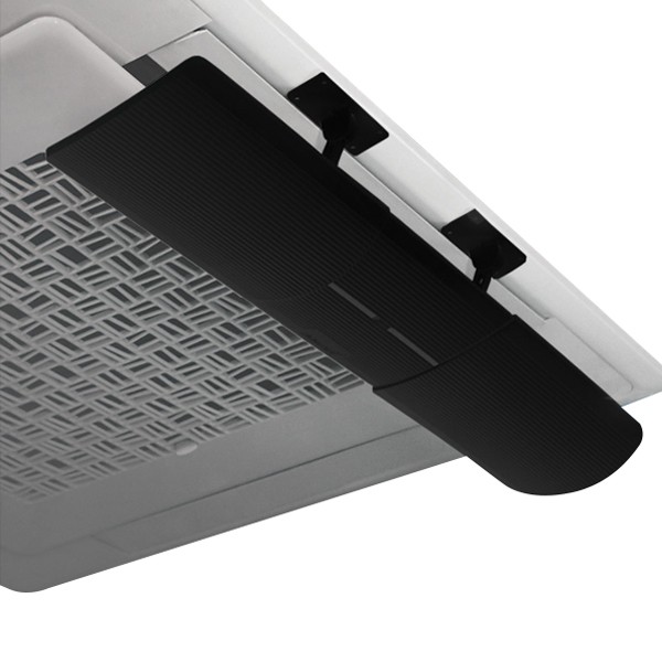 윈드케어 천장형시스템에어컨 접착식 바람막이 WV-202 BLACK (POP 4665154560)
