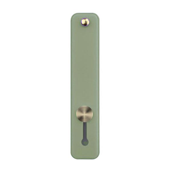 파스텔톤 접착형 휴대폰 핑거 스트랩, 그린, 1개