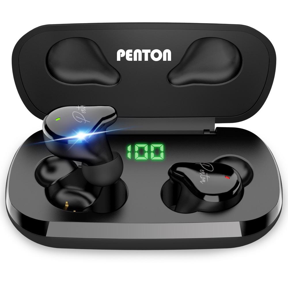 펜톤 TSX 플렉스 LED 무선 블루투스 5.1 이어폰, 단일상품, 단일색상