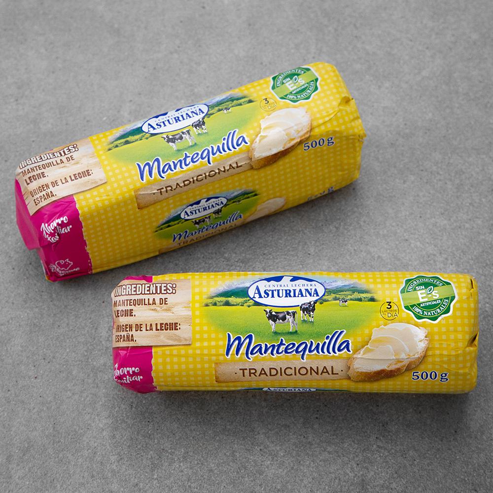 아스투리아나 버터, 500g, 2개