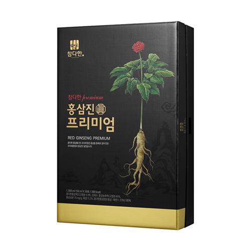 [참다한 홍삼] 참다한 홍삼진 프리미엄 진액 30p, 1500ml, 1개 - 랭킹9위 (167400원)