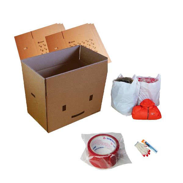 더박스 이사박스 7p + 박스테이프 + 이불 봉투 4p + 목장갑 + 커터칼 세트 (POP 199411229)