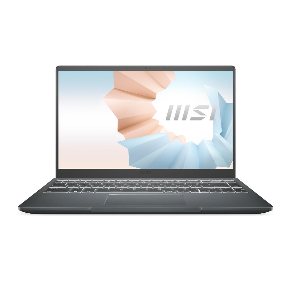 MSI 모던 14 카본그레이 노트북 B10MW (i7-10510U 35.56cm), 미포함, 256GB, 8GB