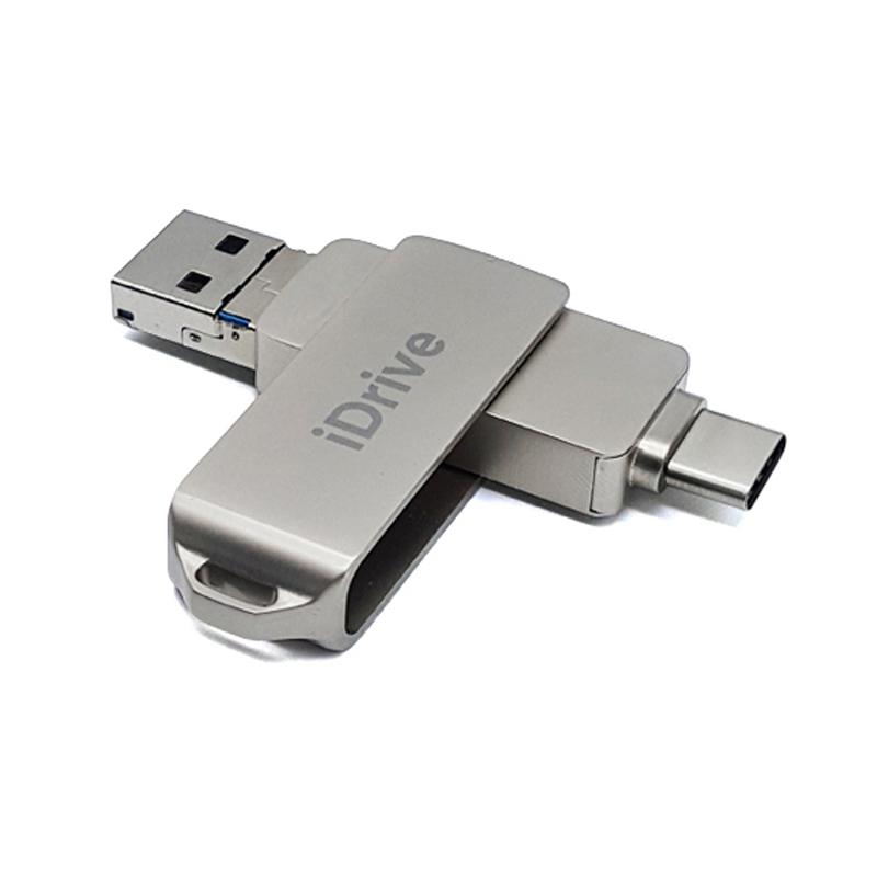 [메모리확장] iDrive C타입 OTG 외장메모리, 128GB - 랭킹8위 (52710원)