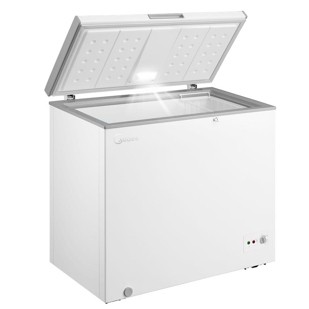 미디어 내부조명 냉동고 화이트 MF-L201WG 200L 방문설치