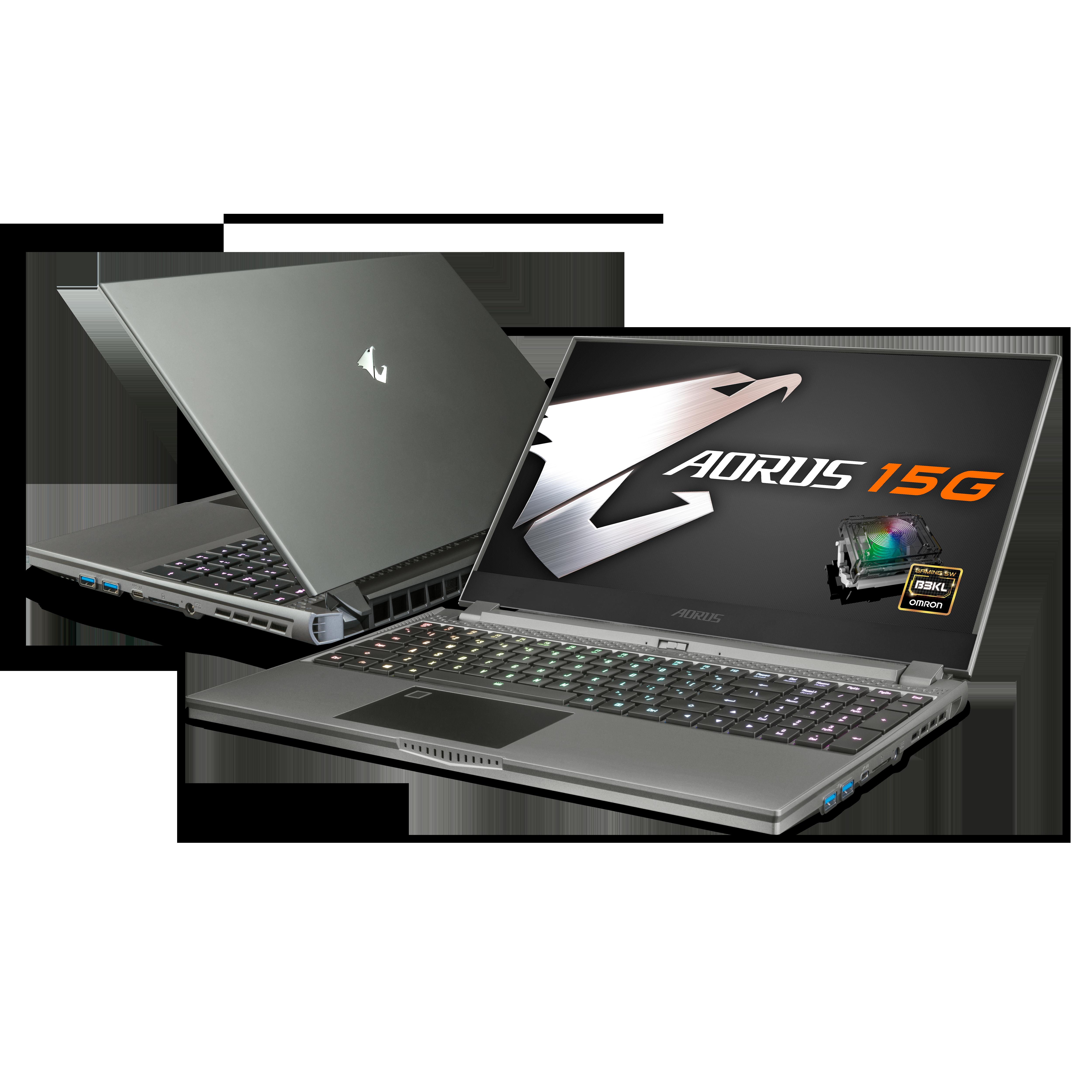 기가바이트 게이밍 노트북 AORUS 15G YC i7 (i7-10870H 39.6cm RTX 3080), 윈도우 미포함, NVMe 1TB, 32GB