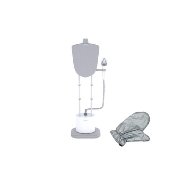 다피오 스탠드형 스팀다리미 + 전용 장갑 세트, DPO-002WT, 혼합색상